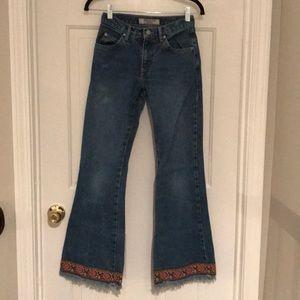 ❤️FINAL PRICE❤️VGUC~ Vtg PARIS BLUES Flare Jeans